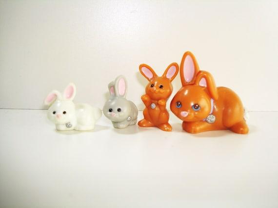 Vintage kenner littlest pet shop 1990s toys bunnies for Home decor kenner