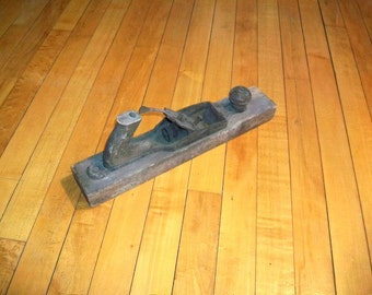 Vintage Wood Planer Antique Tool Country Plane