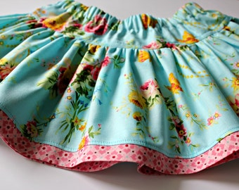PATTERN Twirly Skirt - PDF Pattern and Tutorial (Instant Download)