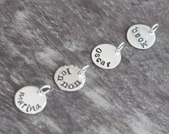 """Additional 1/2"""" Sterling Silver Disc"""