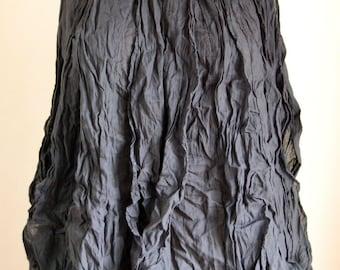 light and comfortable sleeveless Top :  cotton black