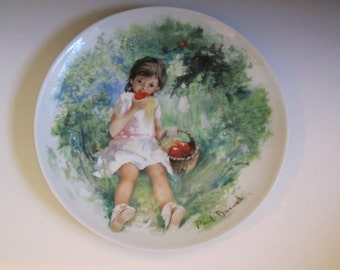 Marie Ange Collector's Plate by Paul Durand
