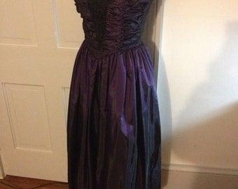 Prom Dress on Strapless 80s Prom Dress