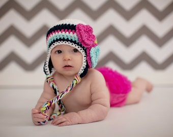 baby girls hat, girls hat, little girls hat, crochet girl hat, baby hat, kids hat, crochet baby hat