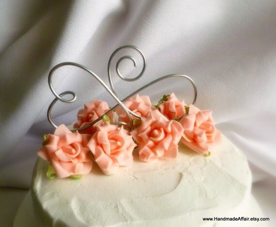 infinity wedding cake topper items similar to wedding cake topper infinity reception 16447
