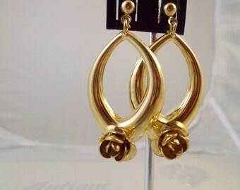 Fashion Flower Earrings