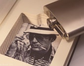 Hollow Book Safe and Whiskey Hip Flask - Gonzo (HUNTER S. THOMPSON)