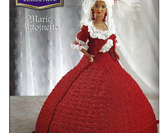 The Royal Court Collection Marie Antoinette Fashion Doll  Crochet Pattern  Annies Attic
