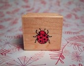 Lil LadyBug WM Rubber Stamp Sentiment by Hero Arts