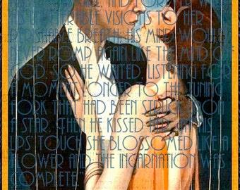 Art Deco Great Gatsby Jazz Age Printable Poster DIY