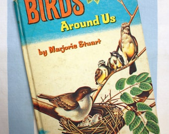 Birds Around Us, 1961 Whitman Learn About Book