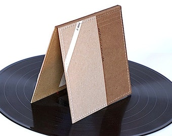 Double CD/ DVD Sleeve- Made from Upcycled Album Covers