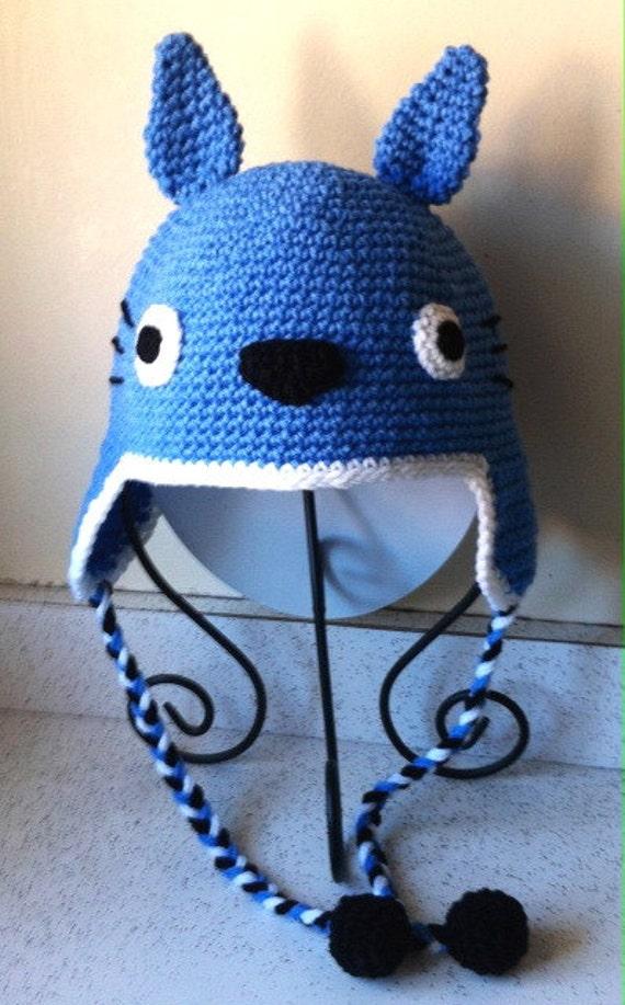 Totoro Crochet Hat Pattern