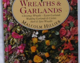 Vintage Wreaths & Garlands Malcolm Hillier The Little Scented Library 1992