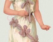 Digital Download Antique Raphael Tuck 'Sunny Susan'  Paper Doll Diecut Edwardian Scrap Graphic Image