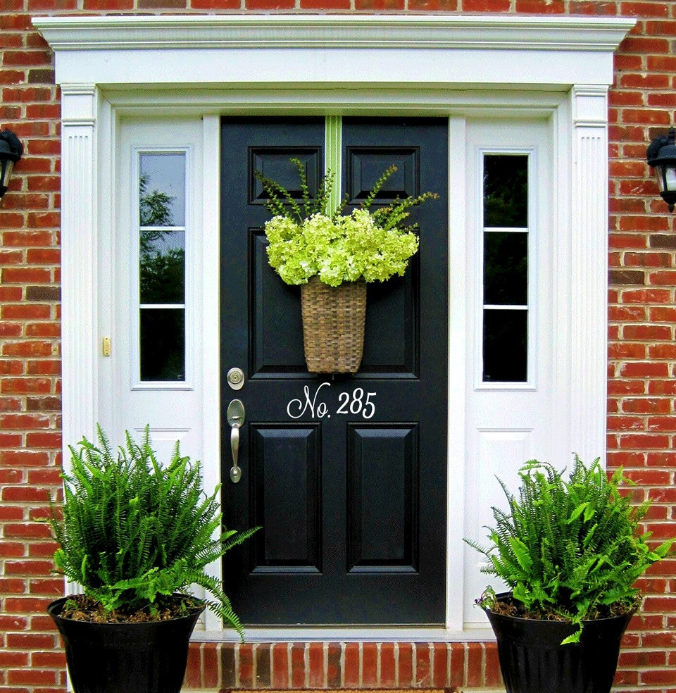 House DoorPainting Your Front Door Images Traditional