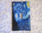 Light Switch Cover - Light Switch Plate in Starry Night by Vincent Van Gogh