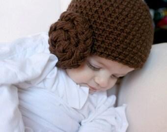 Princess hat with buns, Newborn, 0-3 months, 3-6 months, 6-12 months