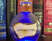Steampunk light up bottles- ANTIMATTER