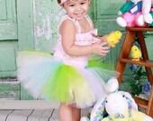Easter Tutu skirt inspired. spring tutu skirt. pastel
