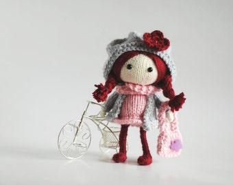 Ruby. The Doll - pdf knitting pattern