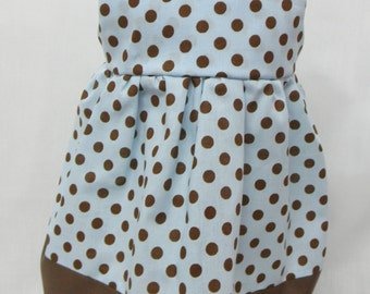 Polka Dot Sun Dress for 18 inch doll like the American Girl.( MARKED DOWN.)