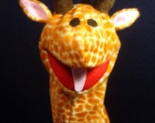 Creatures Inspired - Henry the Giraffe Hand Puppet