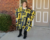 Childs Michigan Serape    Make My Day Style Poncho