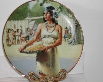 Pocahontas Collector Plate David Wright