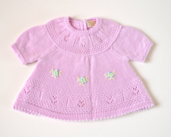 Vintage Baby Dress Size 6 to 12 months
