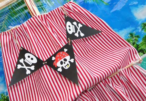INSTANT DOWNLOAD PIRATE  Pennants - Please Read Description Thoroughly Before Purchasing