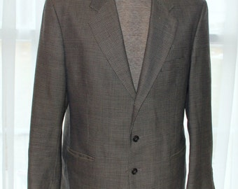 Oleg Cassini Men's Suit Jacket - Made in Costa Rico - 100% Wool - Summer Weight