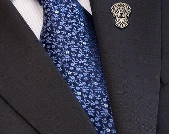 Vizsla brooch - sterling silver