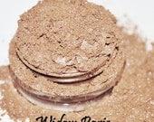 WIDOW PARIS tan and pink vegan eyeshadow FULL size in 5 gram jar