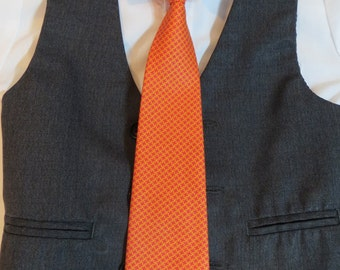 36 Neck Ties - Baby, Toddler & Boy Child (Adjustable) - Orange, Stripes, Damask, Paisley, Black, Green, Purple,  Blue