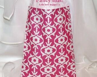 24 HOT PINK Fancy Poppy Vine Favor Bags, Party Treat Bags, Candy Buffet, Cookies, Favors, Wedding, Ballet , Jazz, Brunch, College Socials