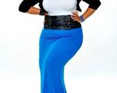 Milan Mermaid Maxi Skirt