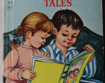 Vintage Rand McNally Elf Book PILLOWTIME TALES 1956