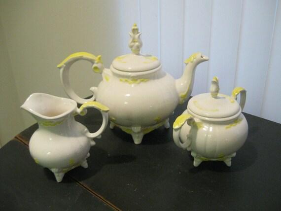 Beauty And The Beast Tea Set By Samanthadear On Etsy