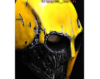 Army of two Airsoft Paintball BB Gun Prop Helmet Salem Costume Cosplay Goggle Mask Maske Masque r1 yellow MA50 et