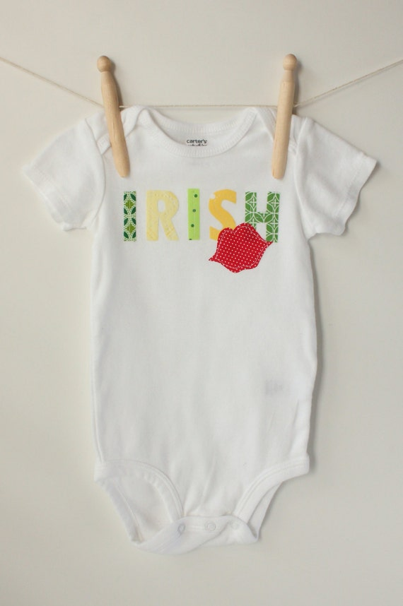 St. Patrick's Day Irish Kiss Bodysuit/Onesie/Shirt