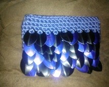PDF Instant Download Pattern Crochet Scale Maille Gift Card Holder with permission to sell finished items