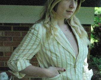 Gatsby Style Pinstripe Summer Jacket