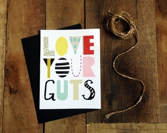 Download Love your guts | Etsy