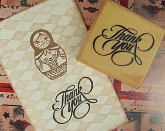 Blessing Stamp -- Rubber Stamps -- Diary Stamps -- Thank you 1
