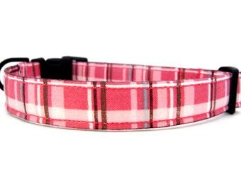 HIP PUP.....Berkshire Plaid......Dog Collar