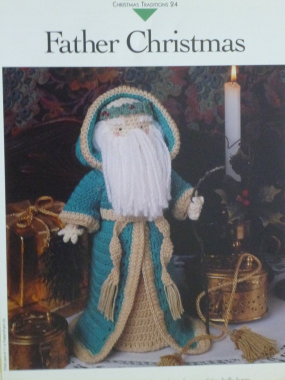 Crochet Pattern Our Father : Father Christmas crochet pattern Vannas 672