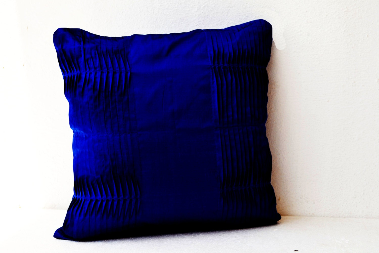 Decorative cushion navy blue pillow cover cotton throw - What is a throw pillow ...