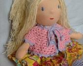 Custom handmade waldorf doll soft toy