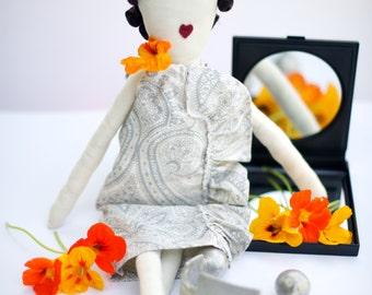 SALE- Cloth rag doll